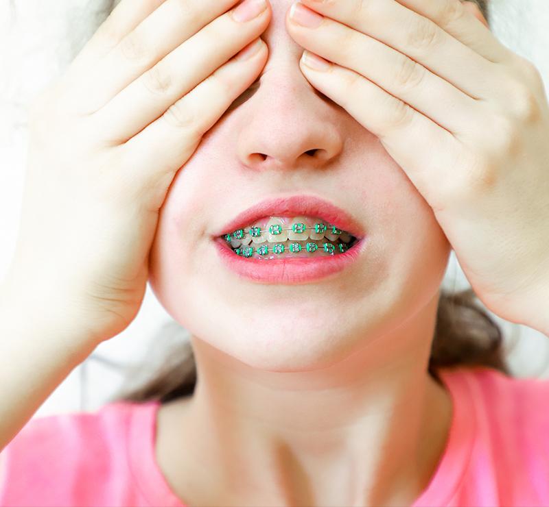 Traitement orthodontie chez l'enfant